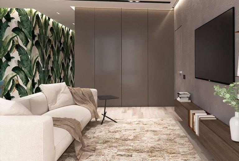 Новинки дизайна гостиной 2020 года — модные современные интерьерные решения при оформлении гостиной