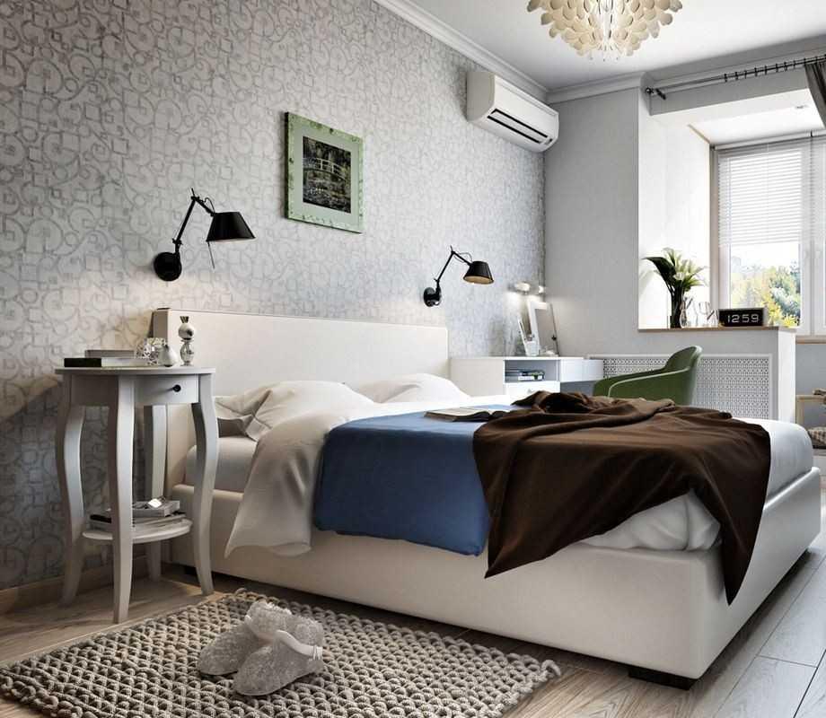 Спальня 5-6 кв м: дизайн интерьера - 23 фото
