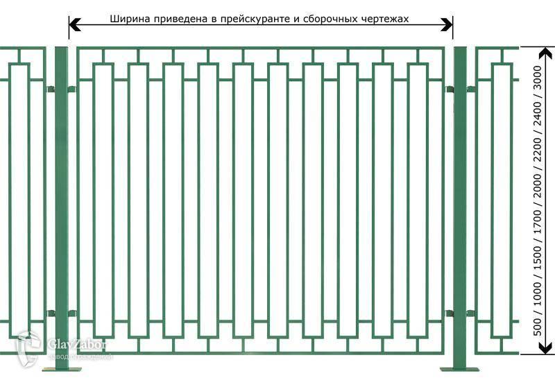 Забор из профилированной трубы своими руками: выбор сечения для ограждения, самостоятельный монтаж