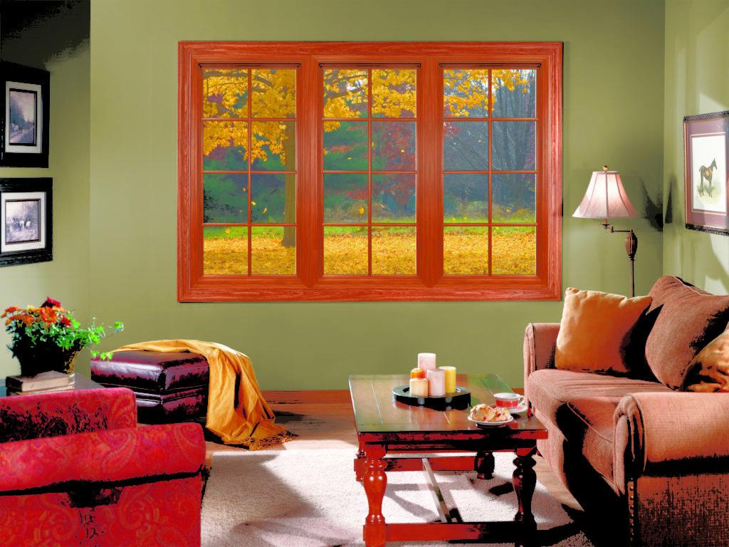 Фальш окно для комнаты без окон