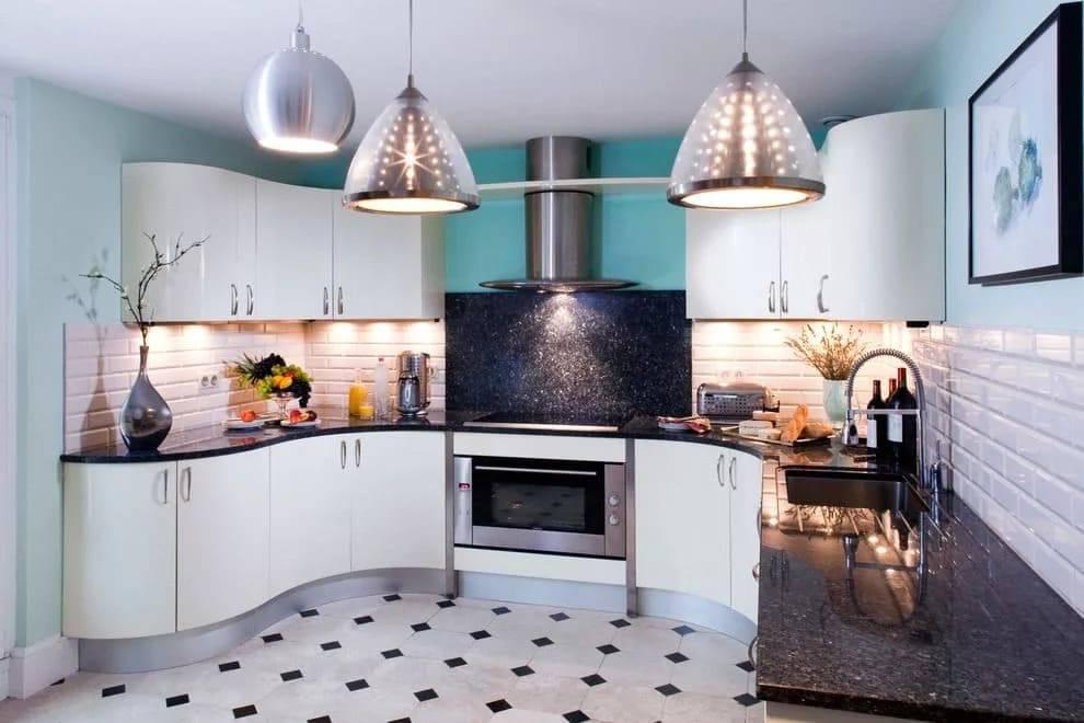 Угловая кухня - топ-180 фото идей планировки угловой кухни. преимущества и недостатки + новинки оформления и декора