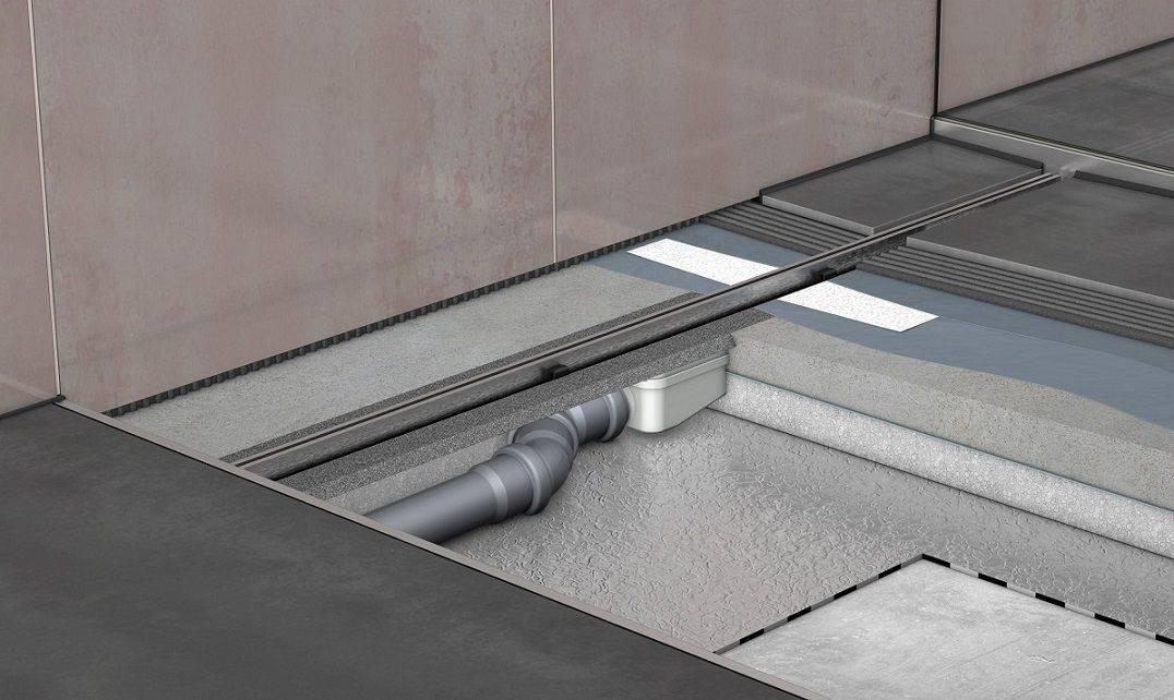 Как сделать слив для душа в полу: подробная инструкция по монтажу