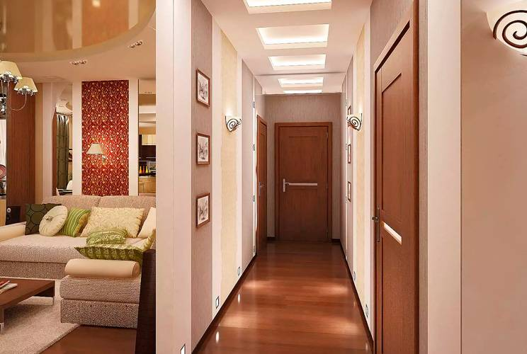Стильный дизайн коридора в 19 вариантах