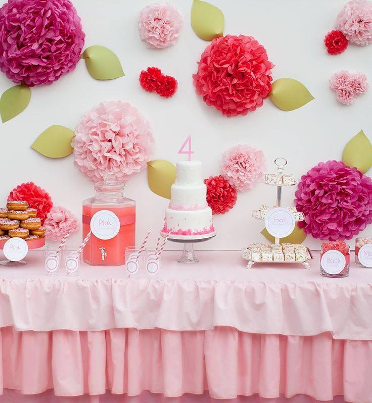 Детский стол на день рождения: 70 фото и 10 подсказок