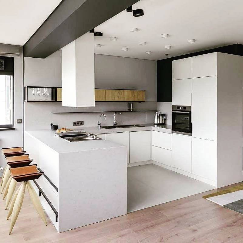 Кухня-столовая в загородном доме: 100 фото-идей красивого дизайна