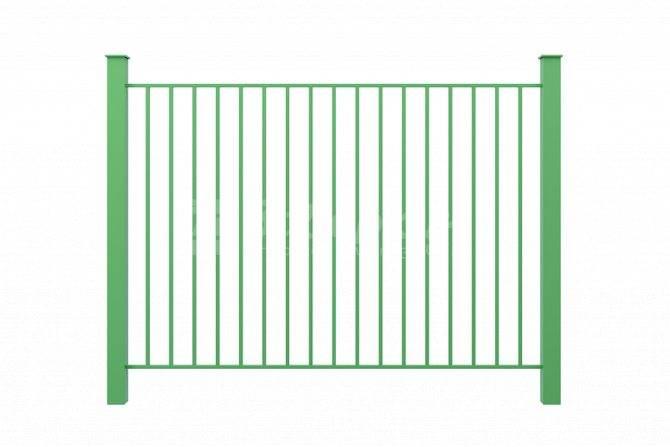 Как самостоятельно сделать недорогой забор из профильной трубы: инструкция + чертежи