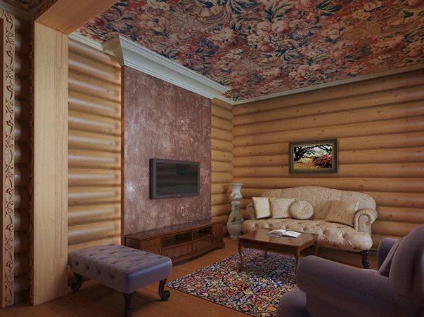 Блок-хаус для внутренней отделки +50 фото примеров интерьера