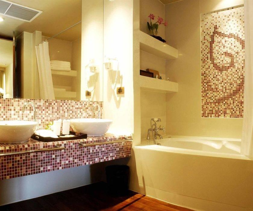 Как использовать мозаику в интерьере ванной