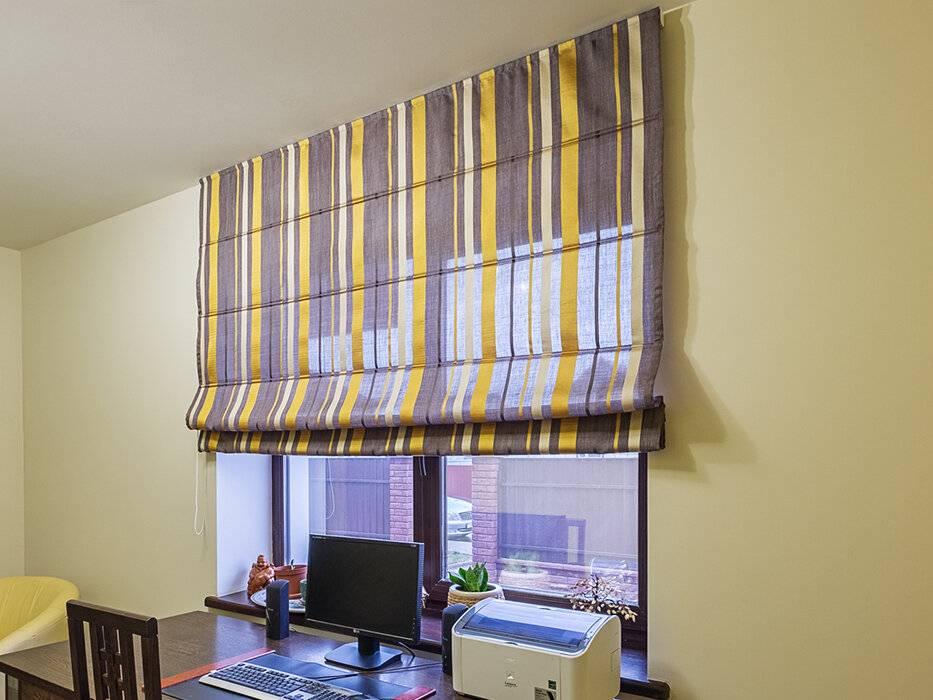 Римские шторы в интерьере: 205+ (фото) пошаговой инструкции