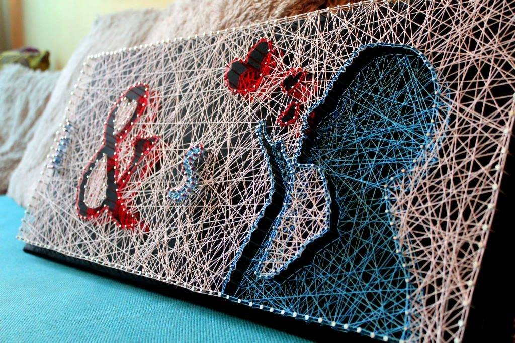 Картины из ниток своими руками, инструкции и схемы art-textil.ru