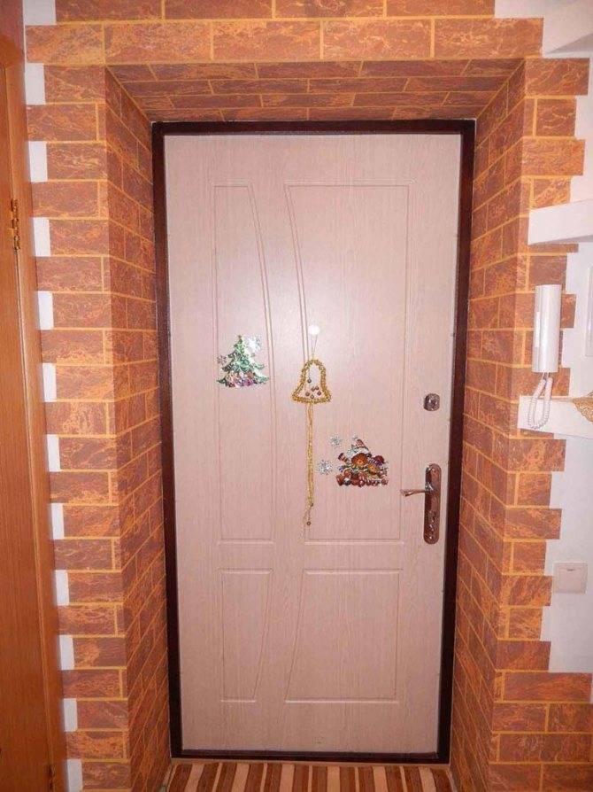 Как отделать откосы входной двери: внутри квартиры, панелями мдф, пвх, после установки железной двери, чем лучше   ремонтсами!   информационный портал