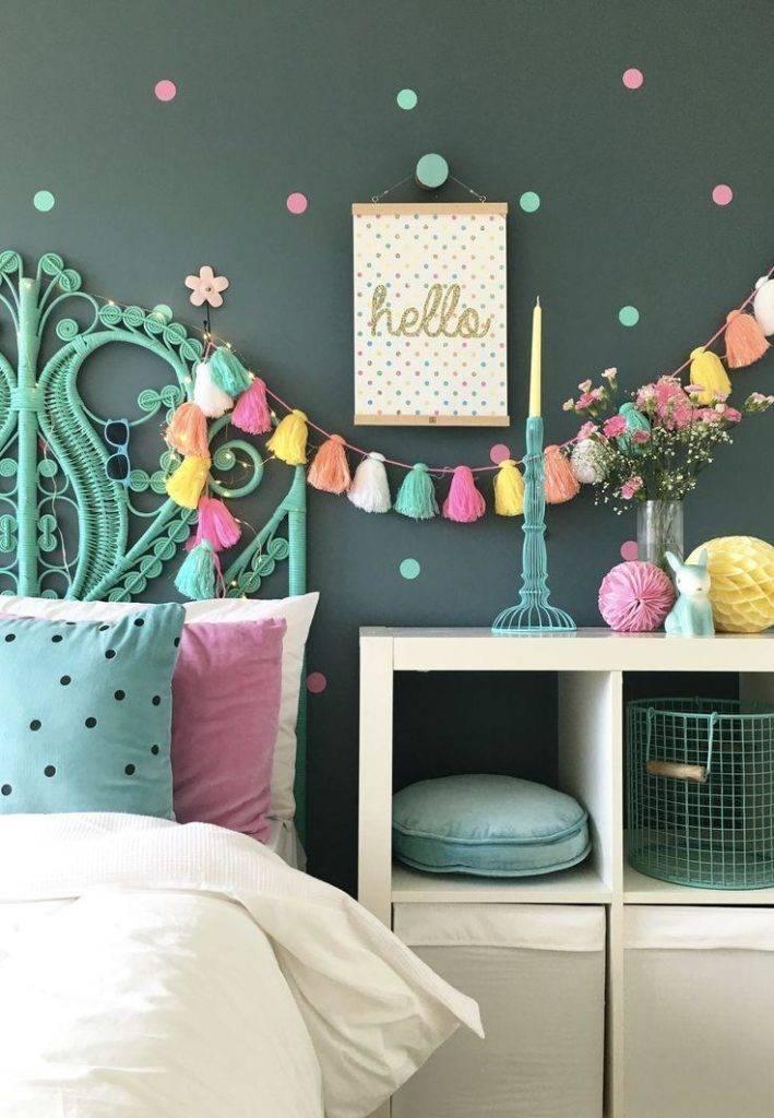 Декор детской комнаты — учимся делать красивый декор своими руками из подручных материалов, фото лучших идей дизайна