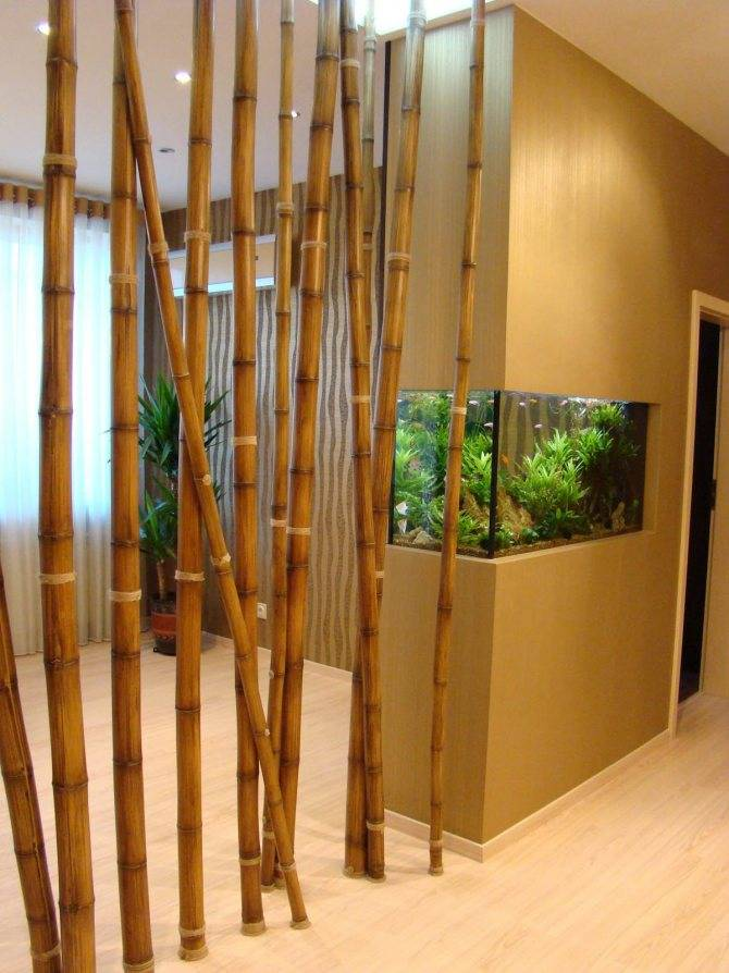 Бамбуковые обои - 100 фото изумительного и стильного дизайна
