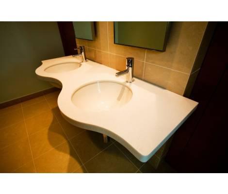 Идеи для столешницы под раковину в ванной: какую выбрать? столешница в ванную – современный подход и проблема выбора. 79 фото встроенных и комбинированных вариаций