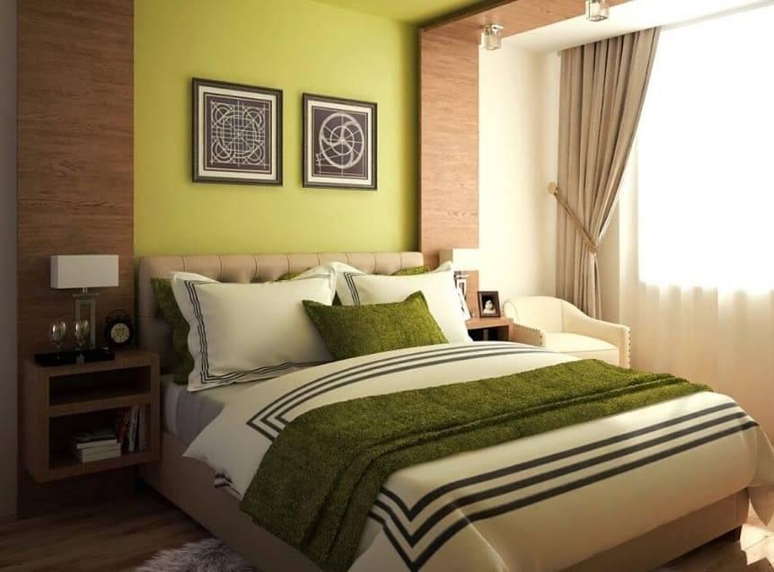 Зеленая спальня: топ 160 фото лучшего сочетания дизайна с зеленым оттенком