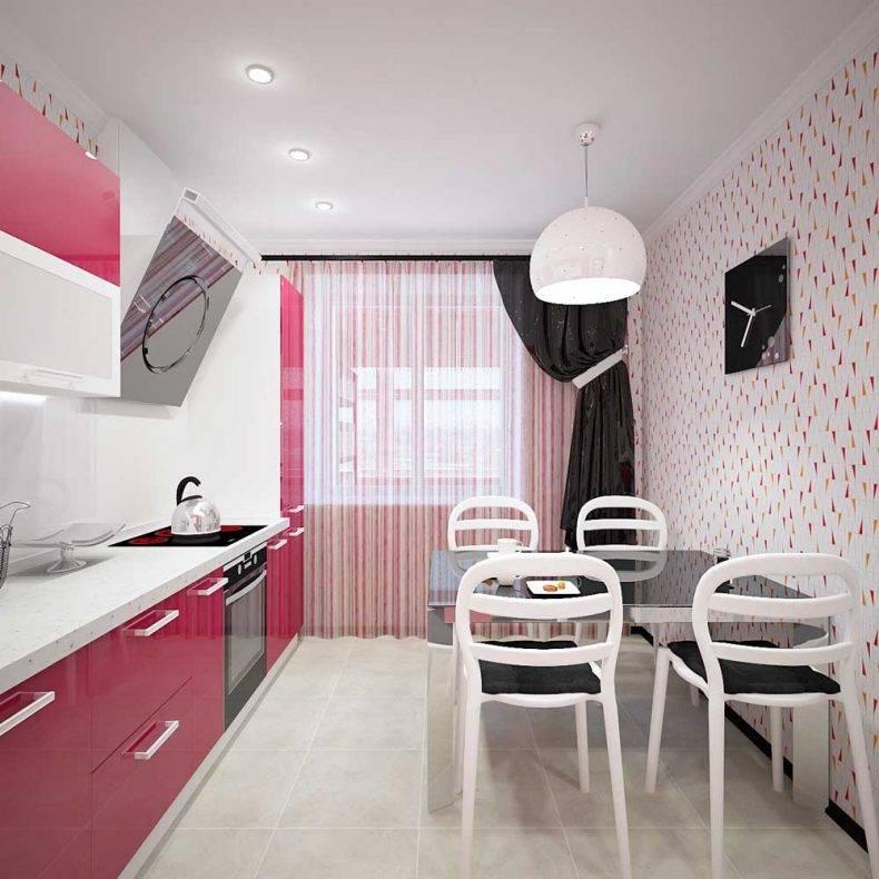 Дизайн кухни 9 кв метров: лучшие фото примеры, полезные советы