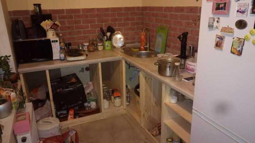 Как сделать кухонный гарнитур своими руками: чертежи и схемы, мебель для маленькой кухни