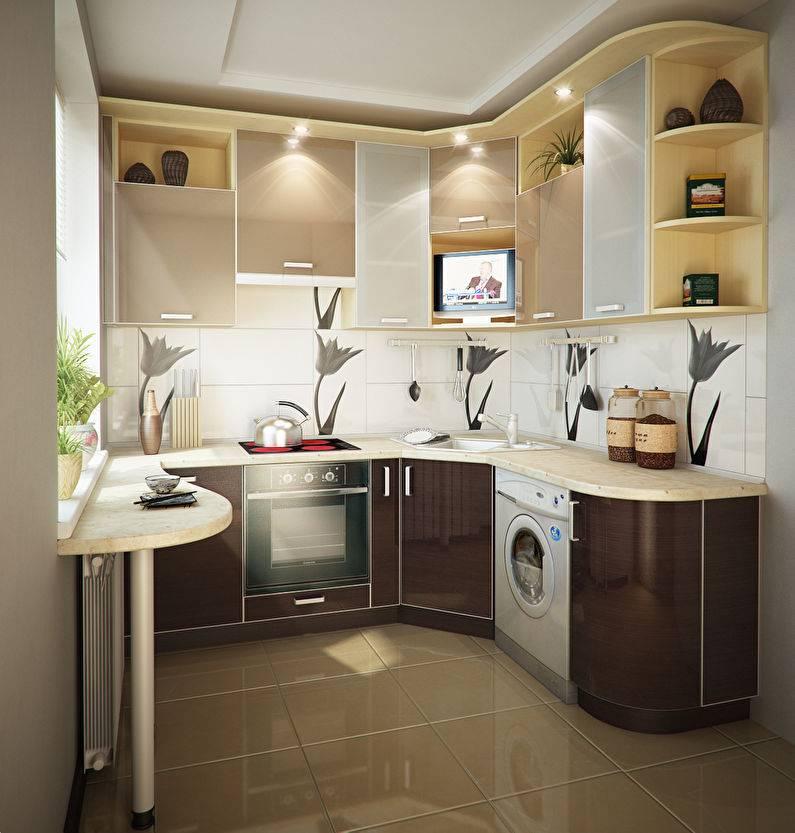Угловая кухня: новинки дизайна и планировки кухни. стили оформления, варианты расположения гарнитура + фото-примеры