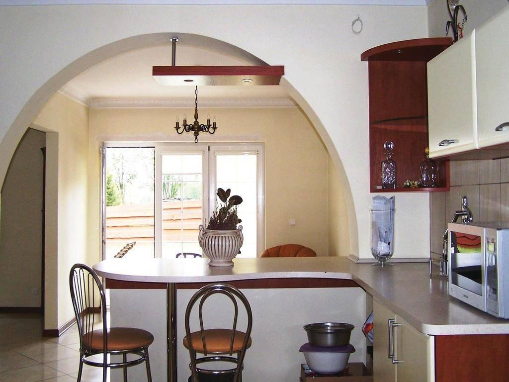 Арка на кухню: примеры дизайна и 50 фото в интерьере
