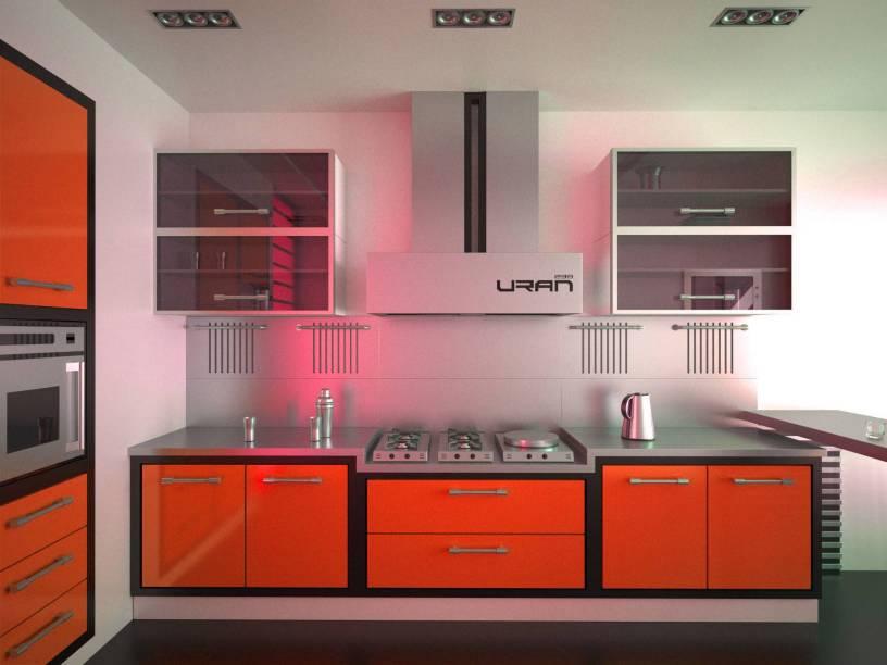 Лучшие цвета для маленькой кухни