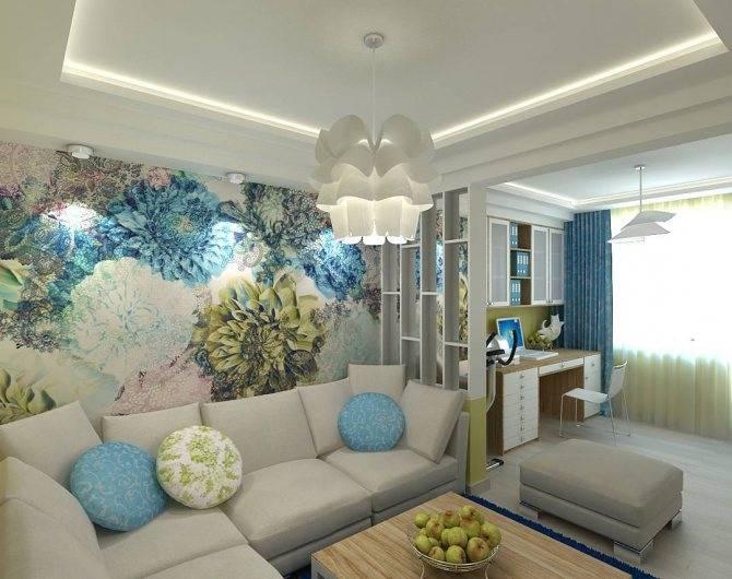 Варианты дизайна спальни-гостиной 16 кв м с фото