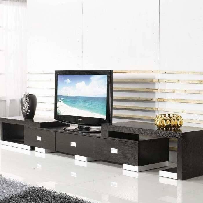 Тумбы под телевизор современные, формы, материалы, полезные дополнения