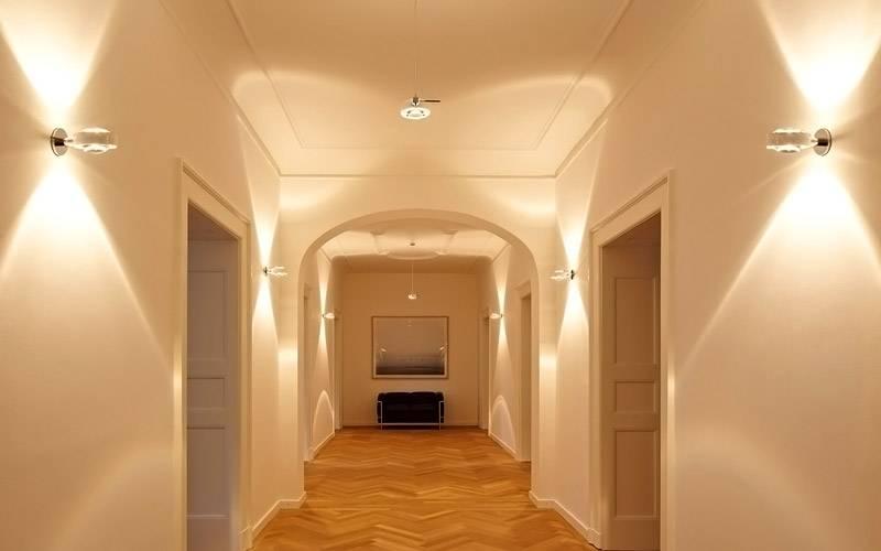 Современное освещение в коридоре квартиры: советы профессионалов и фото