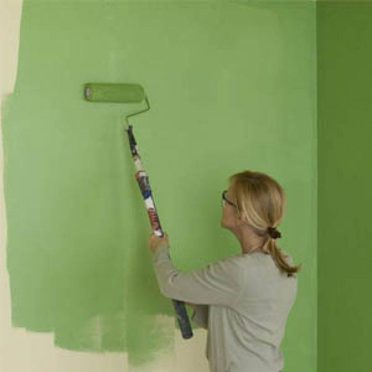 Все тонкости работы с водоэмульсионными красками