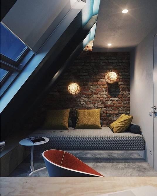 Дизайн мансардного этажа: лучшие идеи по оформлению интерьера с фото и видео