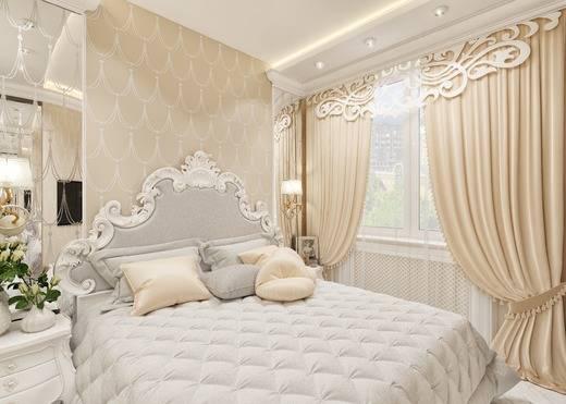 Спальня в классическом стиле (145 фото): примеры красивого дизайна и оформления