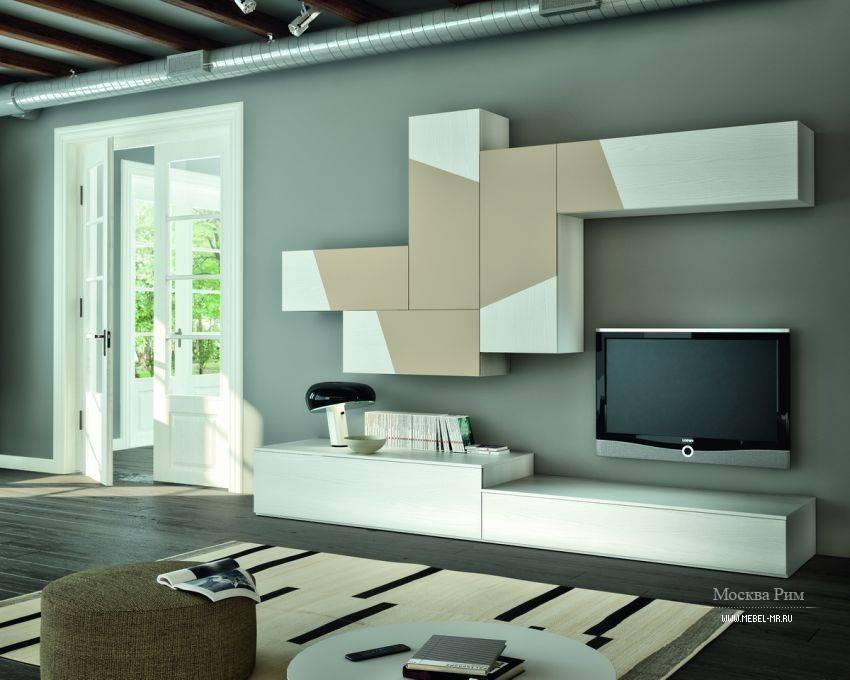 Современные стенки для гостиной