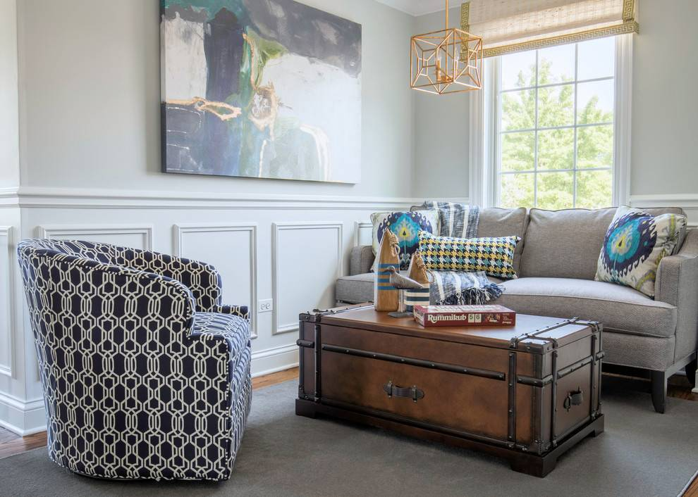 Сундук в интерьере – предки знали толк в мебели