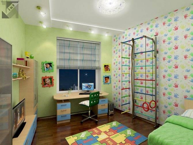 Комната для подростка мальчика и девочки 12-16 лет: идеи дизайна в современном стиле, интерьер комнаты 9-12 кв.м  - 15 фото
