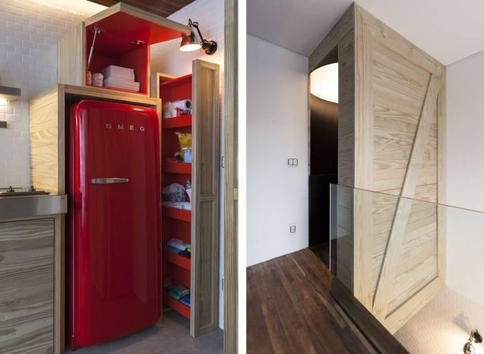 Холодильник в прихожей: плюсы и минусы, варианты расположения, примеры. прятки в интерьере: маскируем технику размещение встраиваемого холодильника в шкафу прихожей