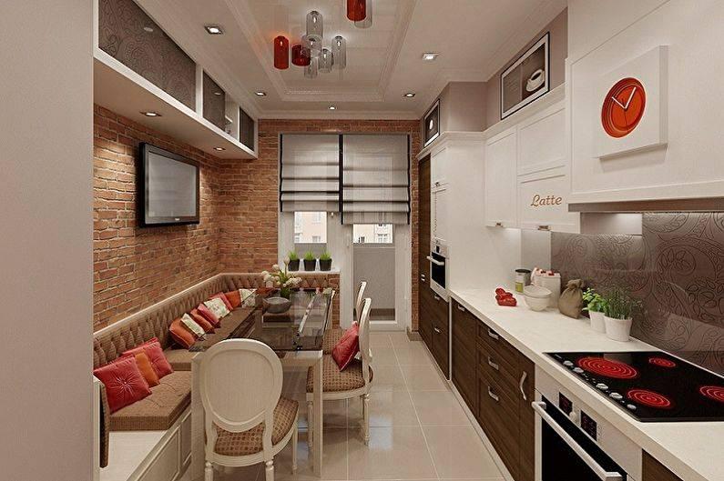 Дизайн кухни 3 на 3: планировка с окном  - 32 фото
