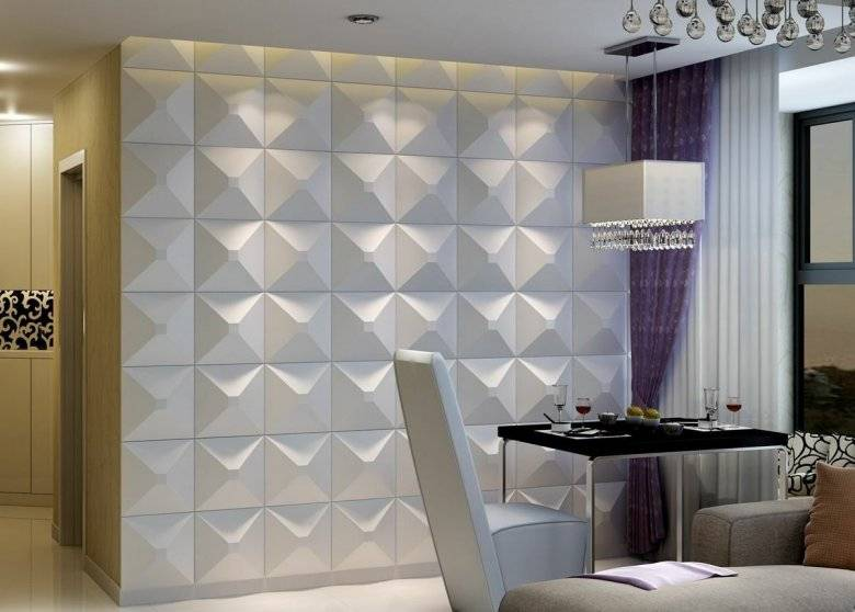 3d панели для стен: 120 фото идей и новинок дизайна
