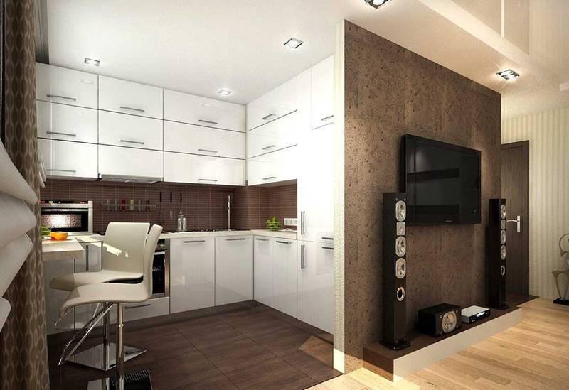 Примеры современных стилей дизайна в интерьере квартир 50 кв. м
