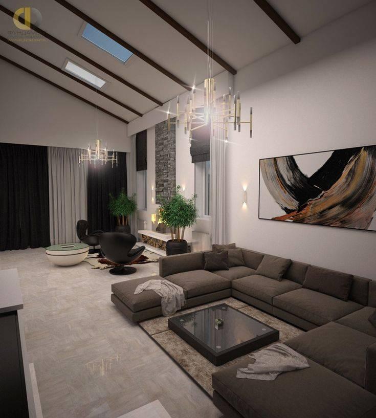 Гостиная в стиле кантри: правила оформления гостиной + 50 фото идей