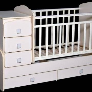 Пеленальный столик - лучшие комбинированные варианты для новорожденных