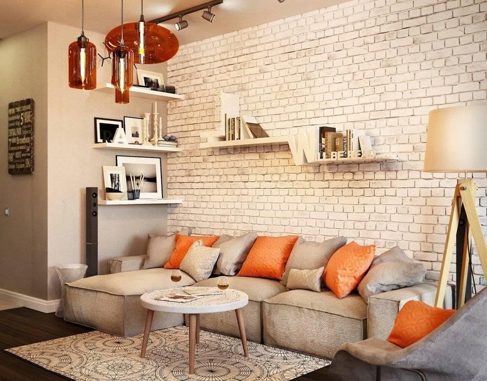 Обои под кирпич: 75 идей оригинального оформления для ваших стен