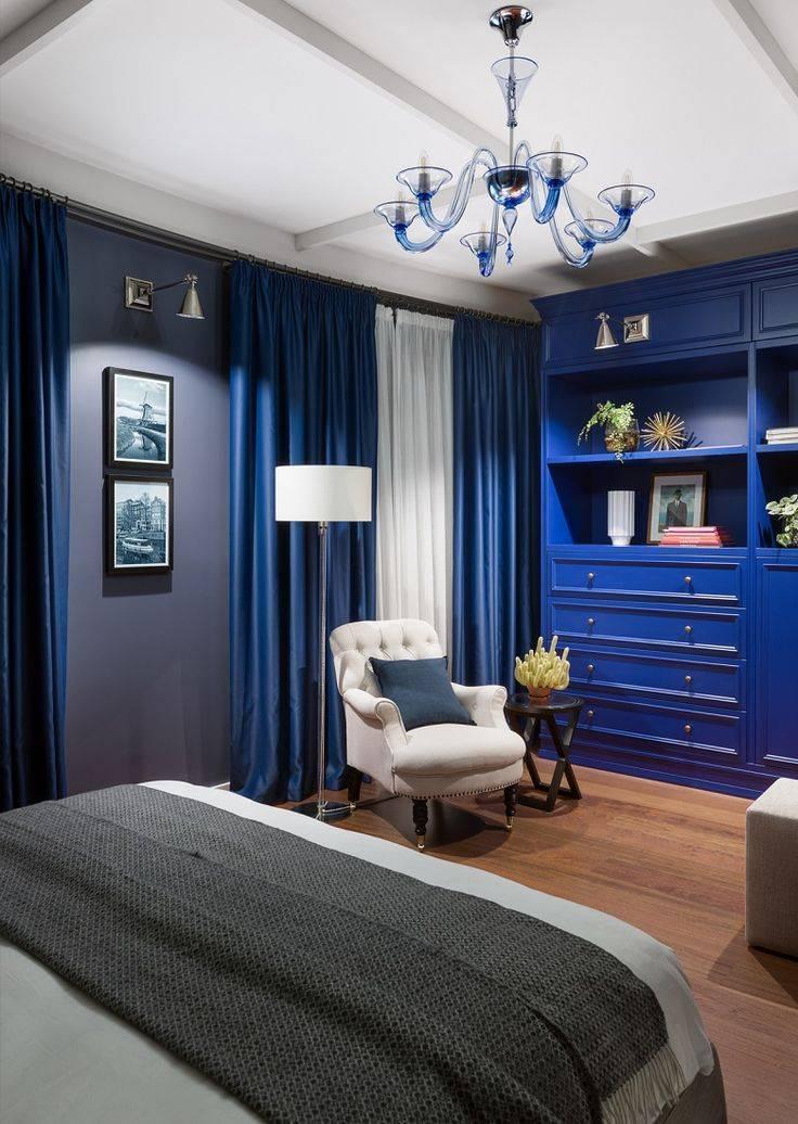 Синяя спальня: 125 фото новинок, идеи дизайна интерьера в синих тонах, реальные примеры красивых проектов