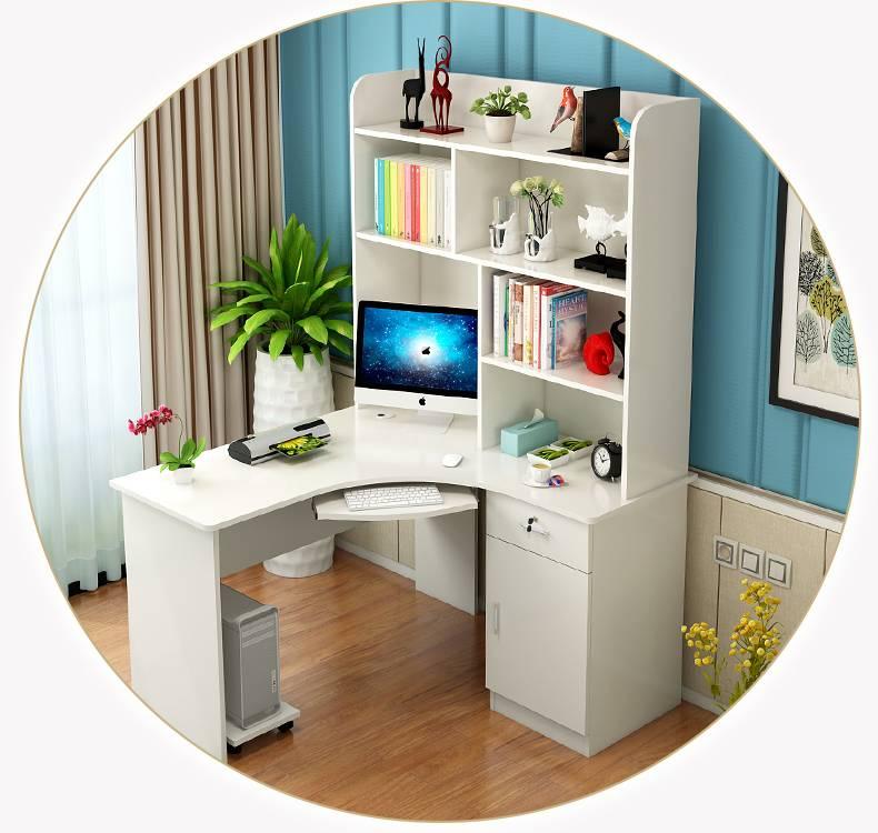 Письменный стол с ящиками и полкой: как выбрать (190+ фото)