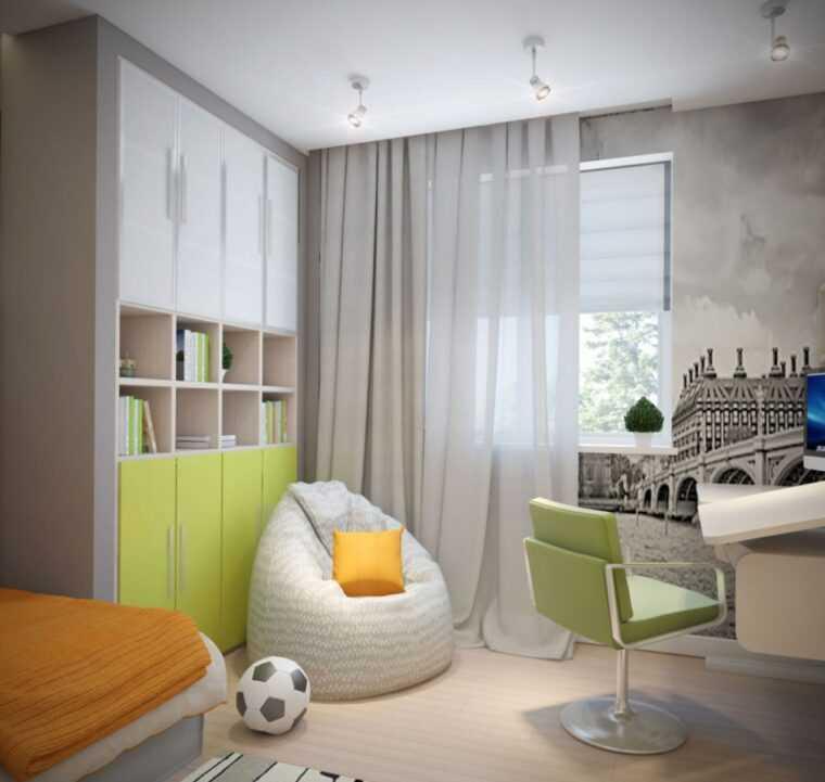 Дизайн спальни 14 и 13 кв. м — фото современных решений