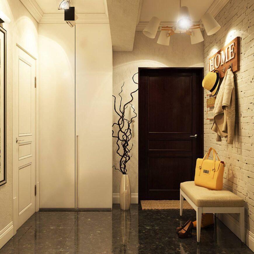 Прихожая в стиле лофт в квартире и в частном доме: различия, особенности и возможности