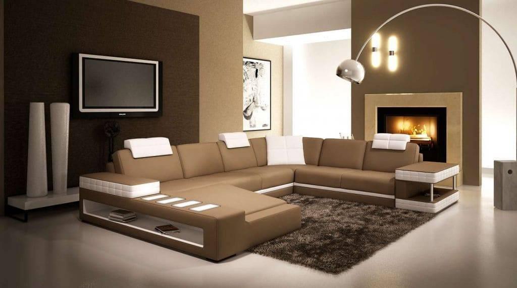 Современная гостиная: топ-120 фото идей дизайна в светлых и темных тонах