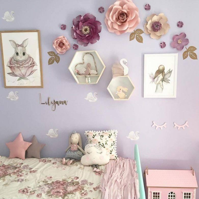 Декор для детской комнаты: яркие дизайнерские идеи и секреты оформления + 63 фото