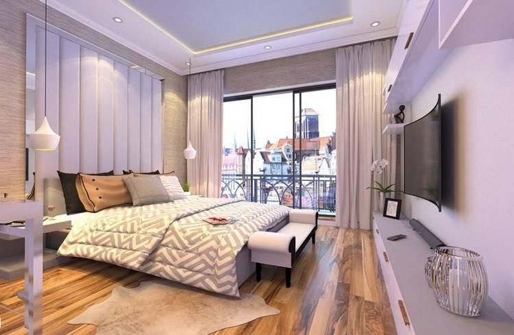 Стиль и дизайн спальни на 14 кв м