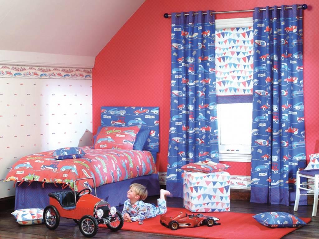 Занавески в детскую комнату: короткие, разноцветные и другие варианты в дизайне