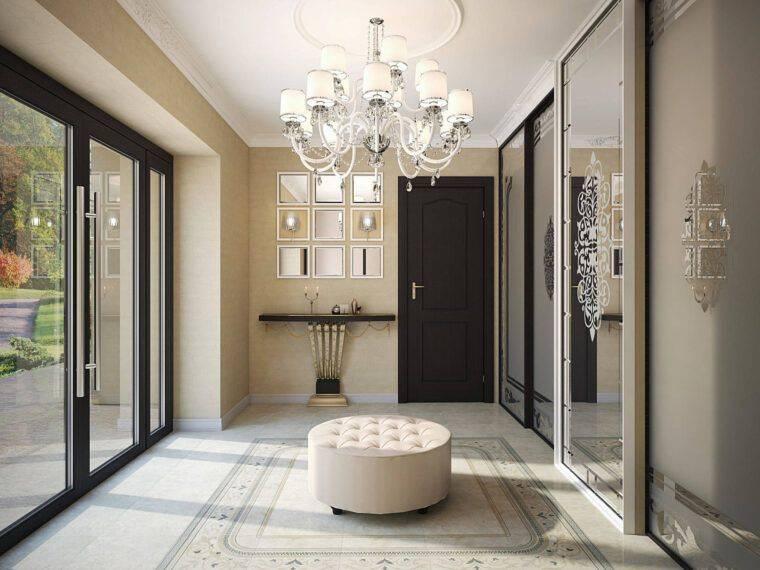 Прихожая в частном доме: современные идеи оформления интерьера