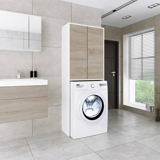 Стиральная машинка в ванной — 79 фото идей обустройства интерьера
